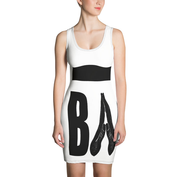 Sublimation-Cut & Sew Kleid BA City