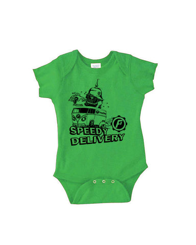 Speedy Delivery Infant creeper (2 colors available)