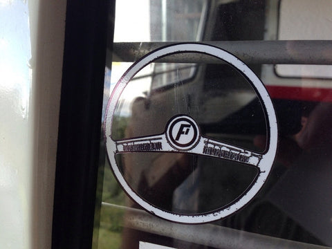 Steering Wheel Sticker