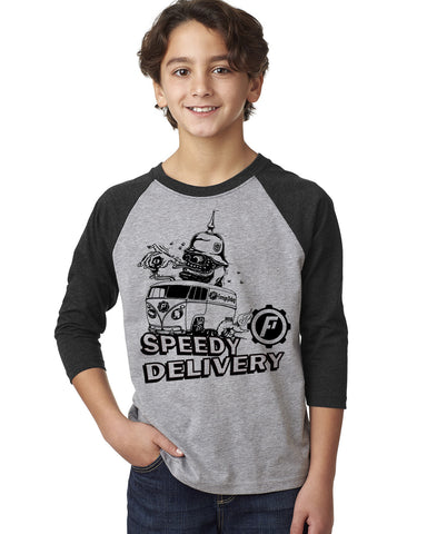 Youth Speedy Delivery Baseball T