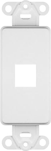 07-6083-01 1-Port Decora Keystone Insert