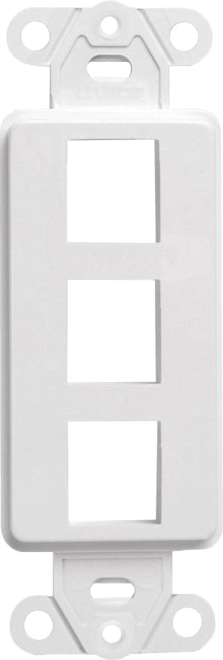 07-6083-03 3-Port Decora Keystone Insert
