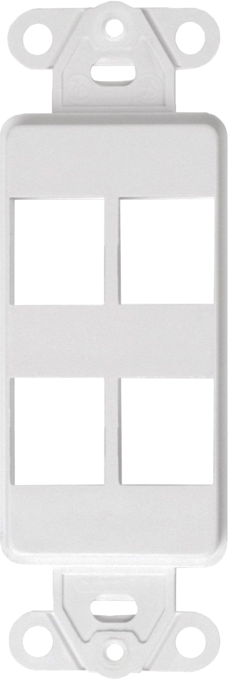 07-6083-04 4-Port Decora Keystone Insert