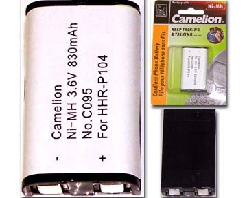 29-095 3.6V 830mAh Cordless Phone Battery Ni-CD