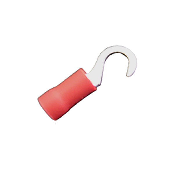 12-0515 Hook Terminals - Red