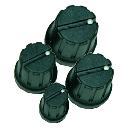 15-2650 Knobs, Bakelite Type A/B/C/D
