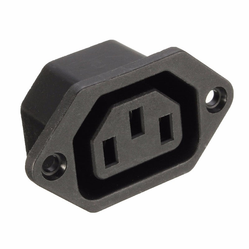 15-2803 3 Pin AC Power Female Panel Mount