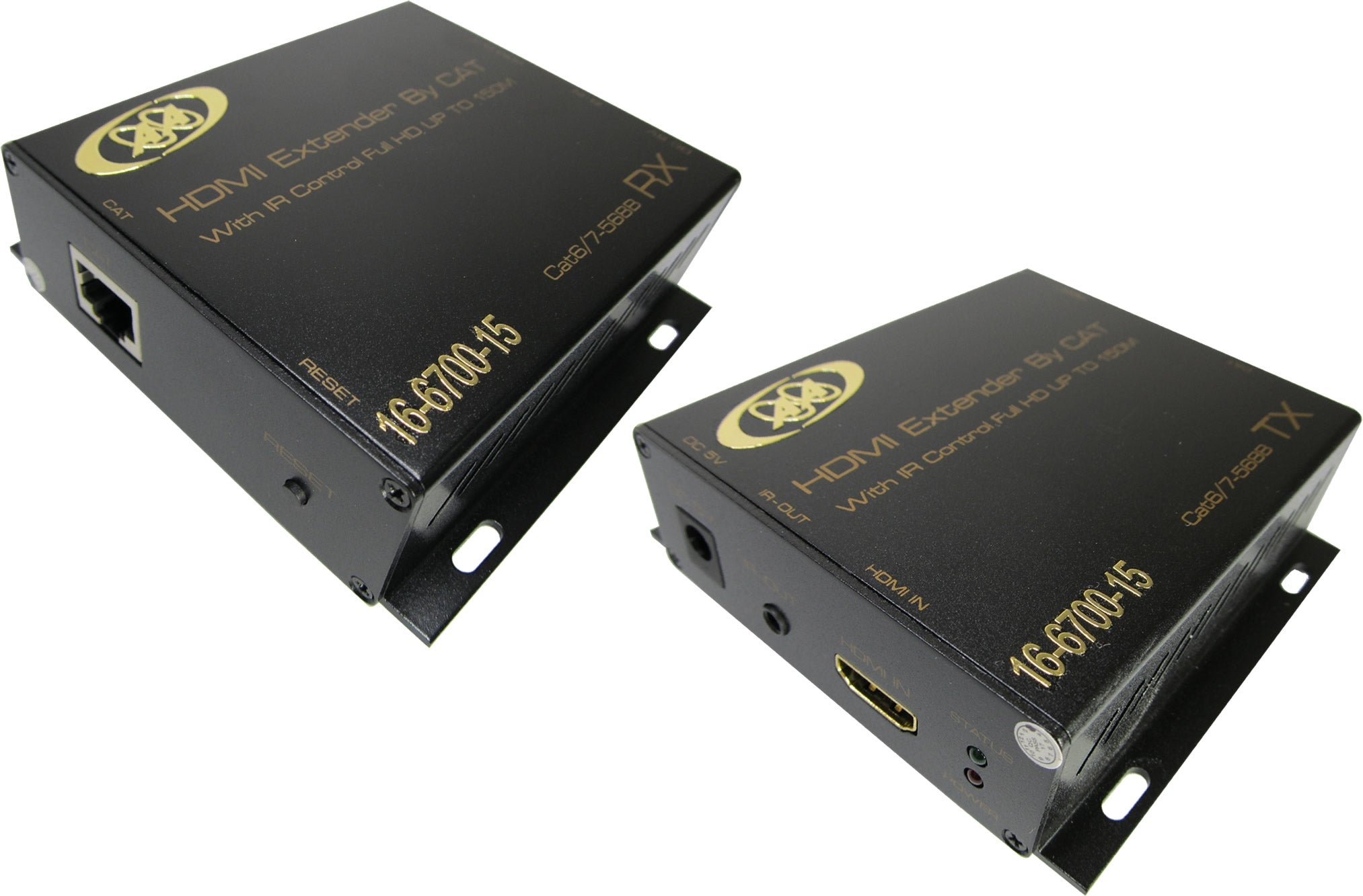 16-6700-20/21 HDMI Extender 1080P over Single Coaxial 500M support EDID Multi-Receiver