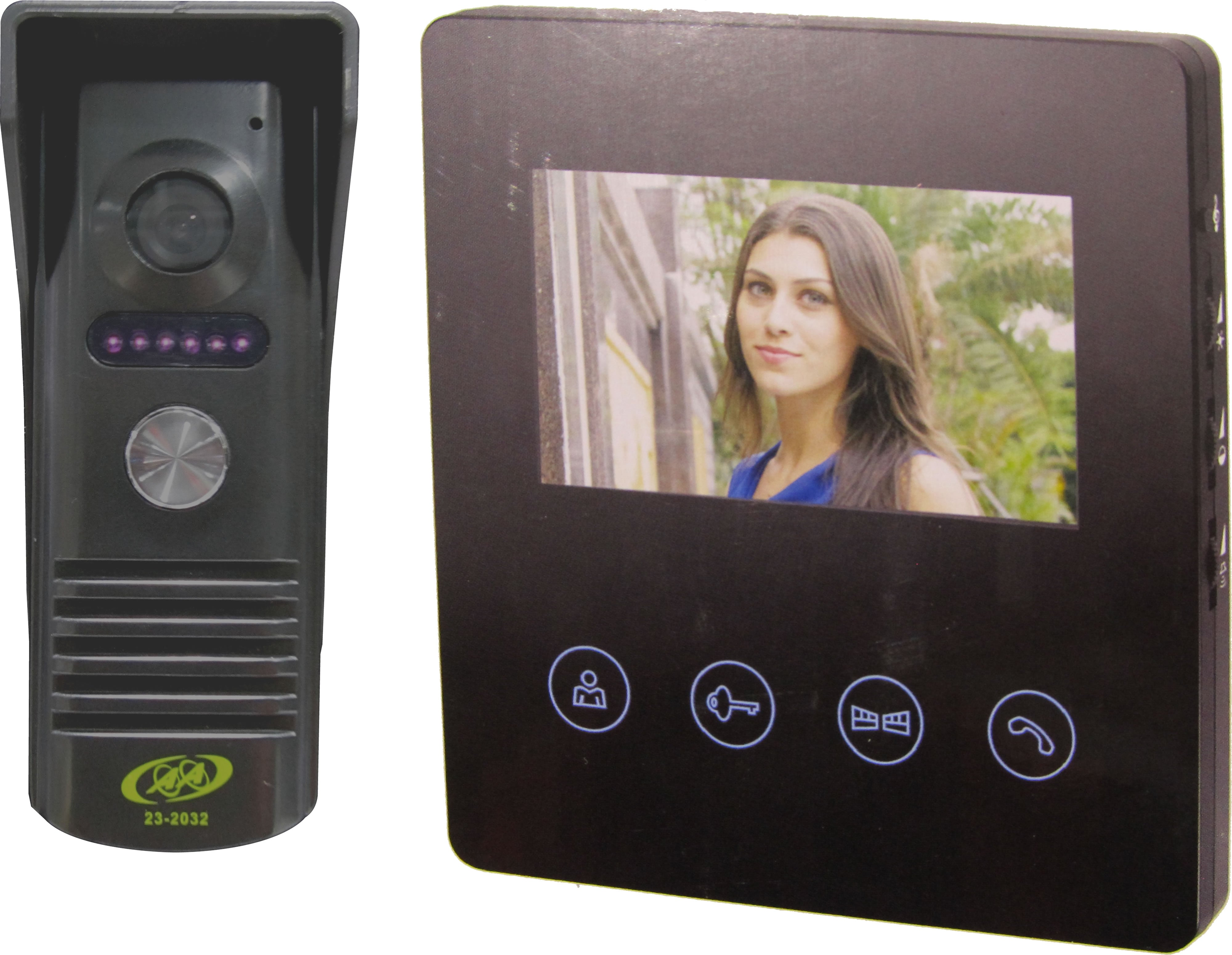 23-2034 Video Doorphone with 4.3 Inches Screen