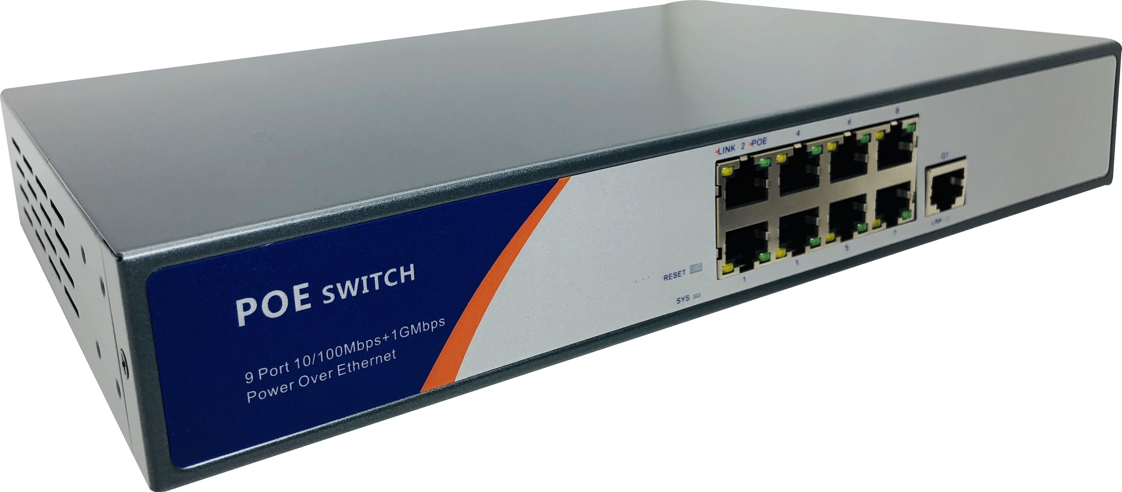 23-4808 8-Port PoE Switch
