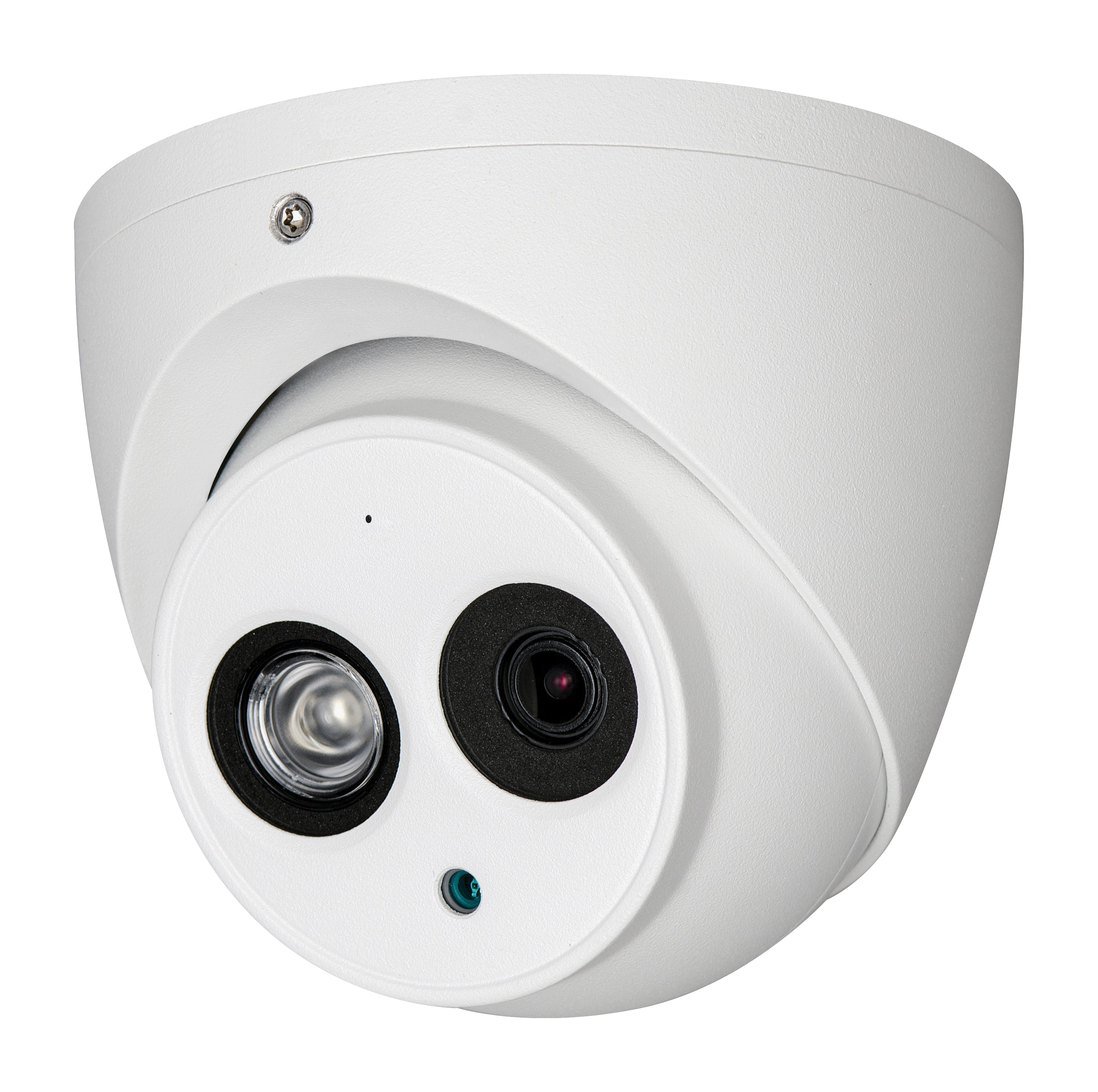 23-4D48A31EM-AS 4K WDR IR Eyeball Face Detection Network Camera with Built-in MicroSD Card Slot & Mic