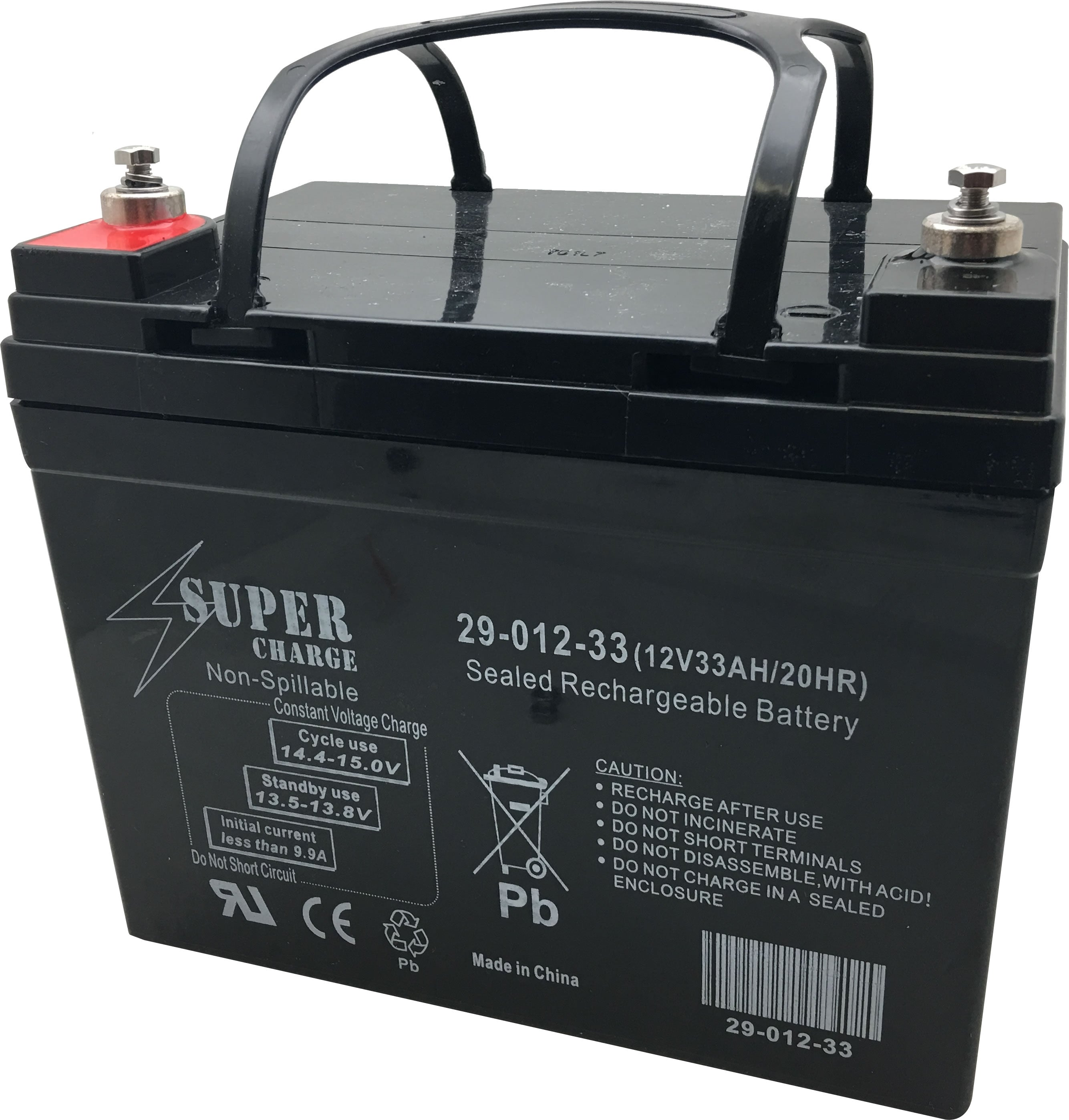 29-012-33 Rechargeable Battery 12V 33AH 20HR