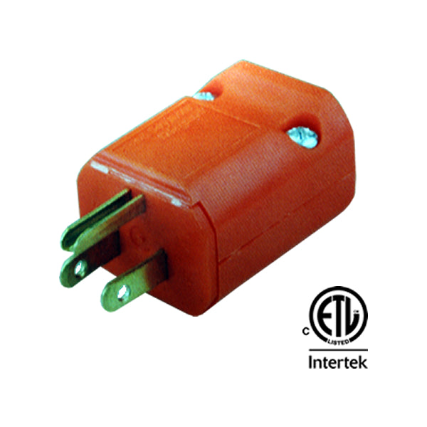 42-0208 Grounded Electrical Plug 3P