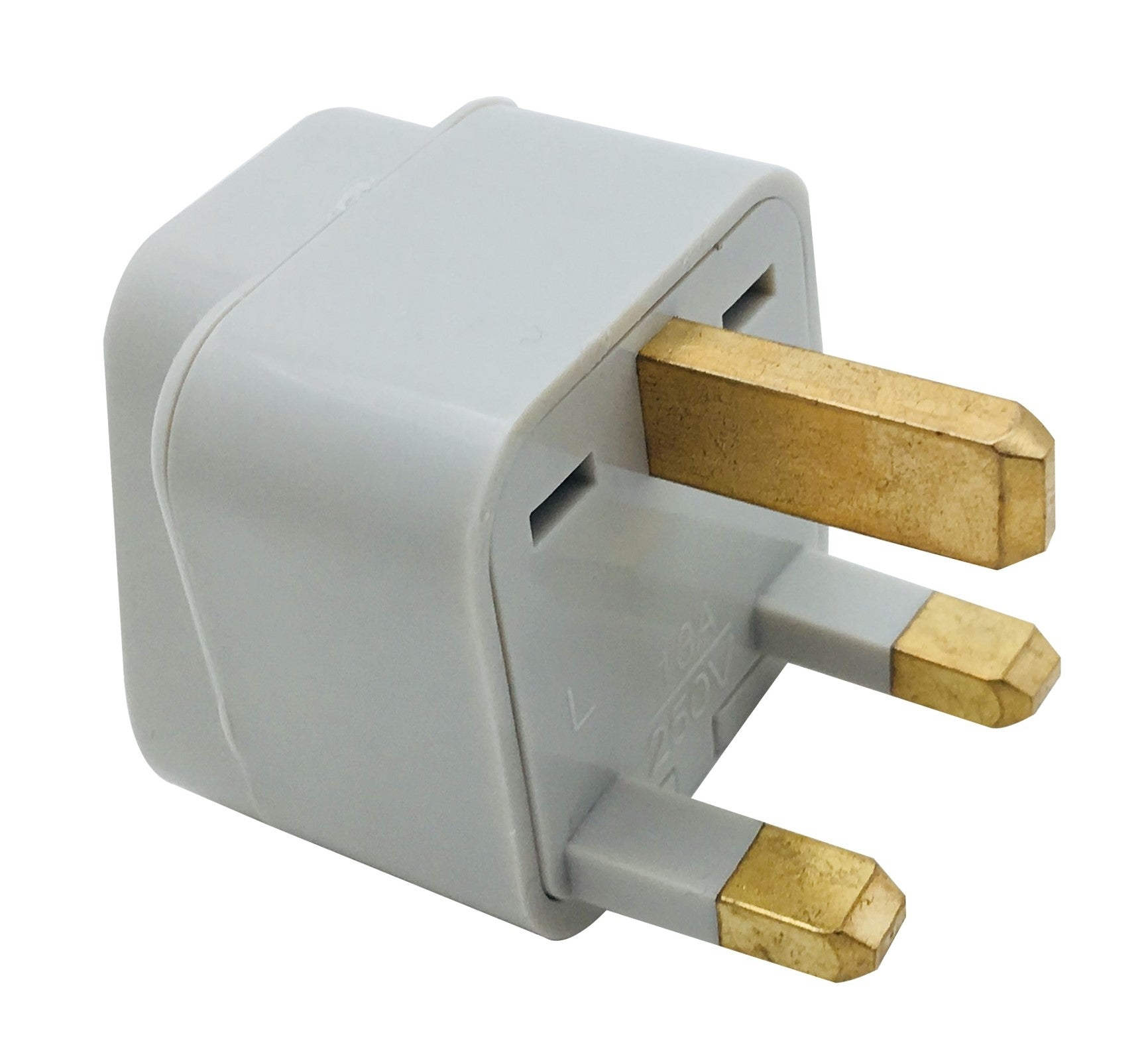 42-0302 Universal Power Plug Adapter: Rectangular blade plug