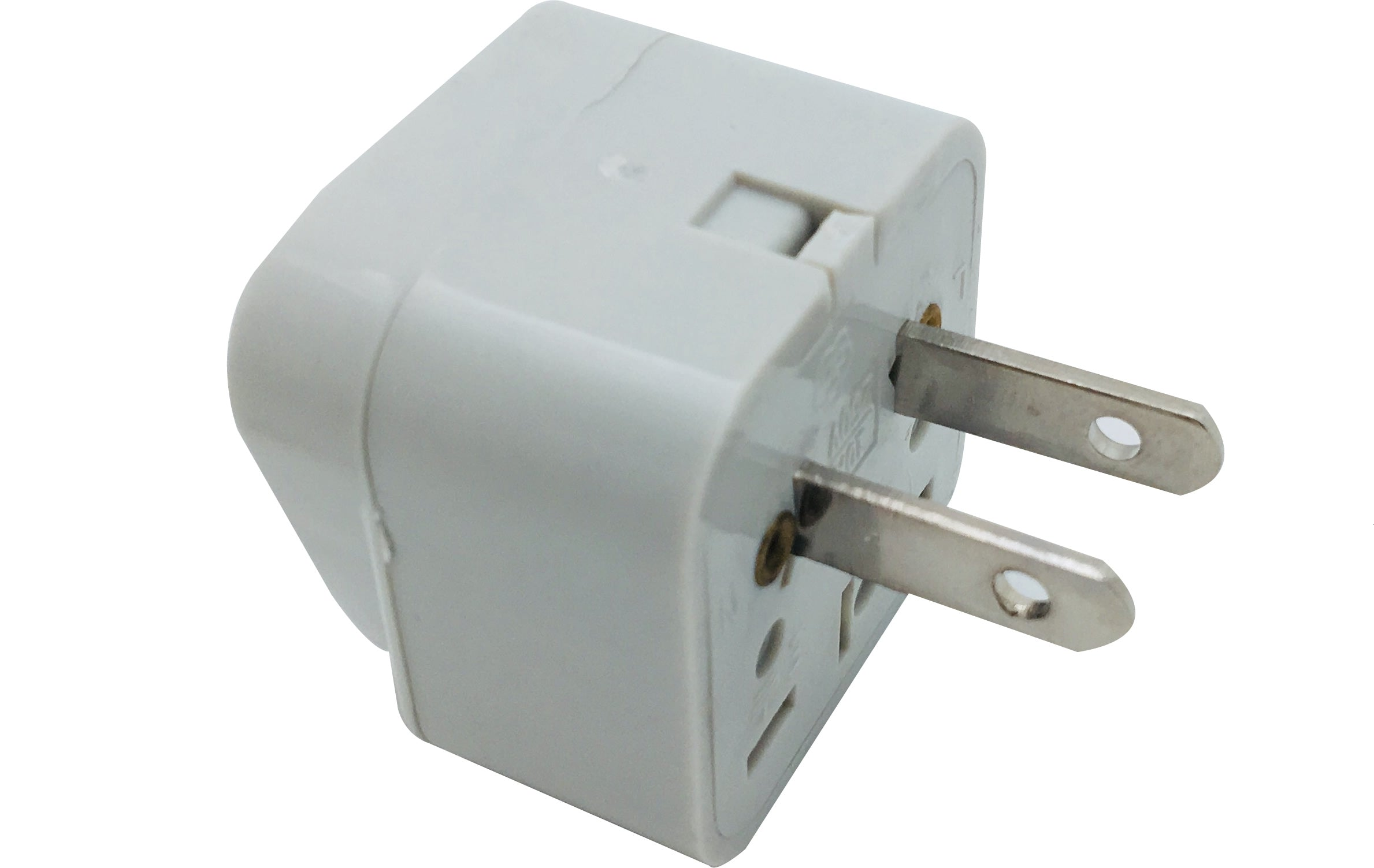 42-0305 Universal Power Plug Adapter: Flat blade attachment plug