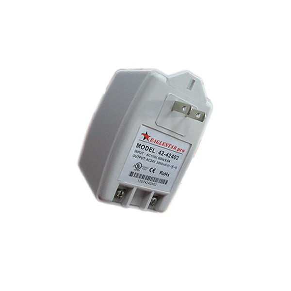 42-42402 AC 24V 2A Wall Adapter with Screw Terminal Output