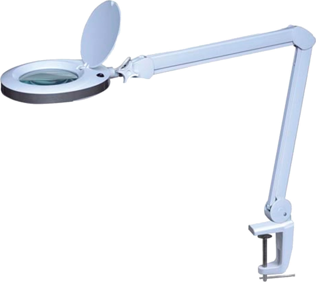 50-4864-05 48 SMD LEDs Magnifying Lamp with Clamp