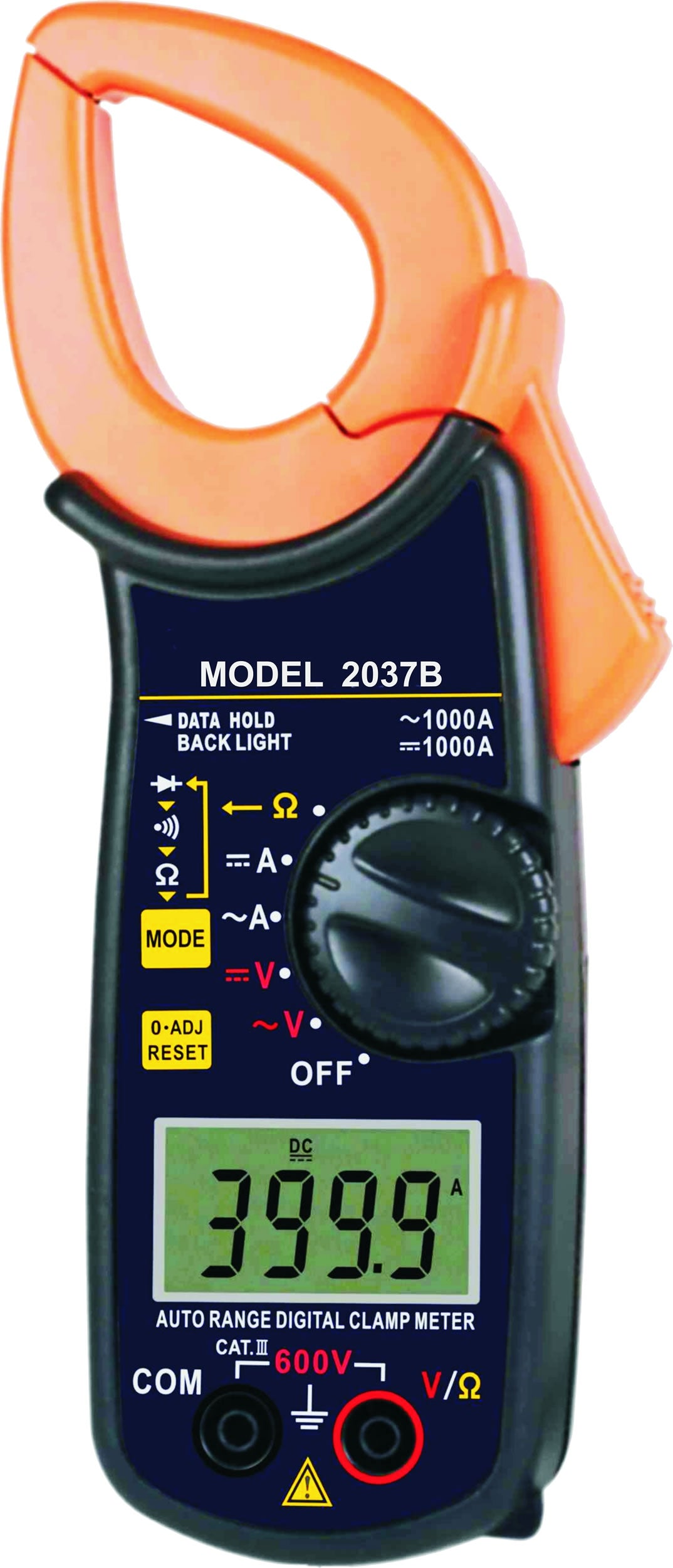 50-6237 Digital AC / DC Clamp Meter 600V / 1000A