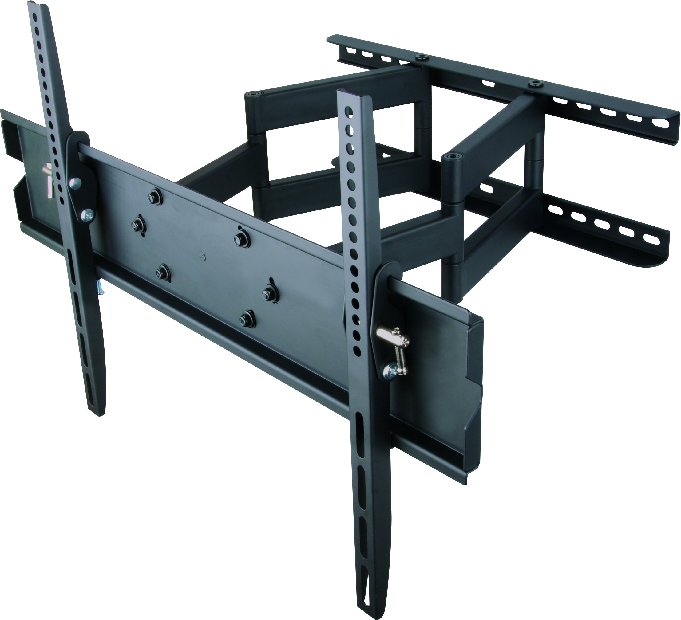 64-1147XL Full motion LCD LED TV Wall Mount Slimline Bracket for 42-80 inches TVs