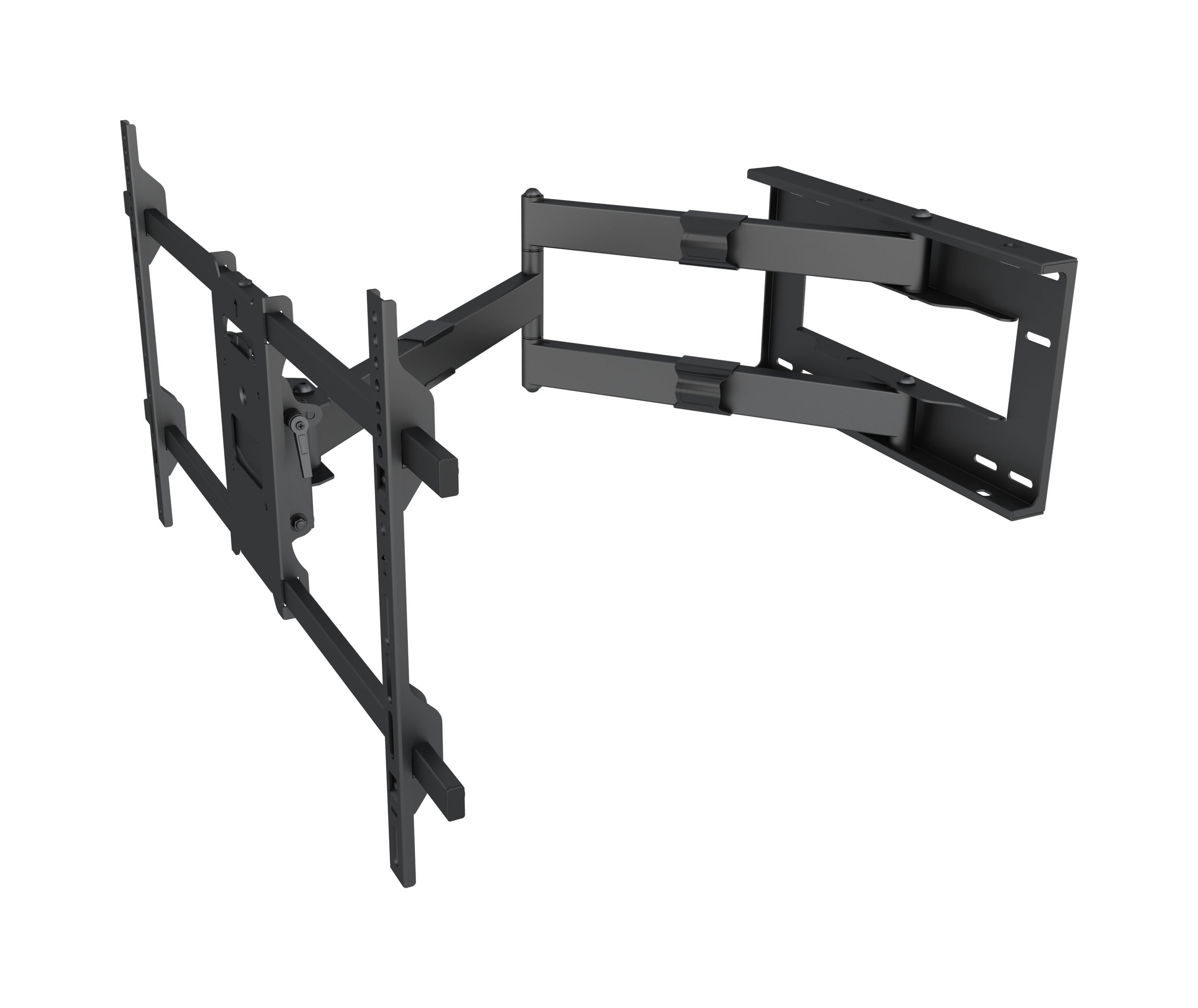 64-1152ML Full motion Flat LCD LED TV / Panels Wall Mount Slimline Bracket for 42-90 inches Screens