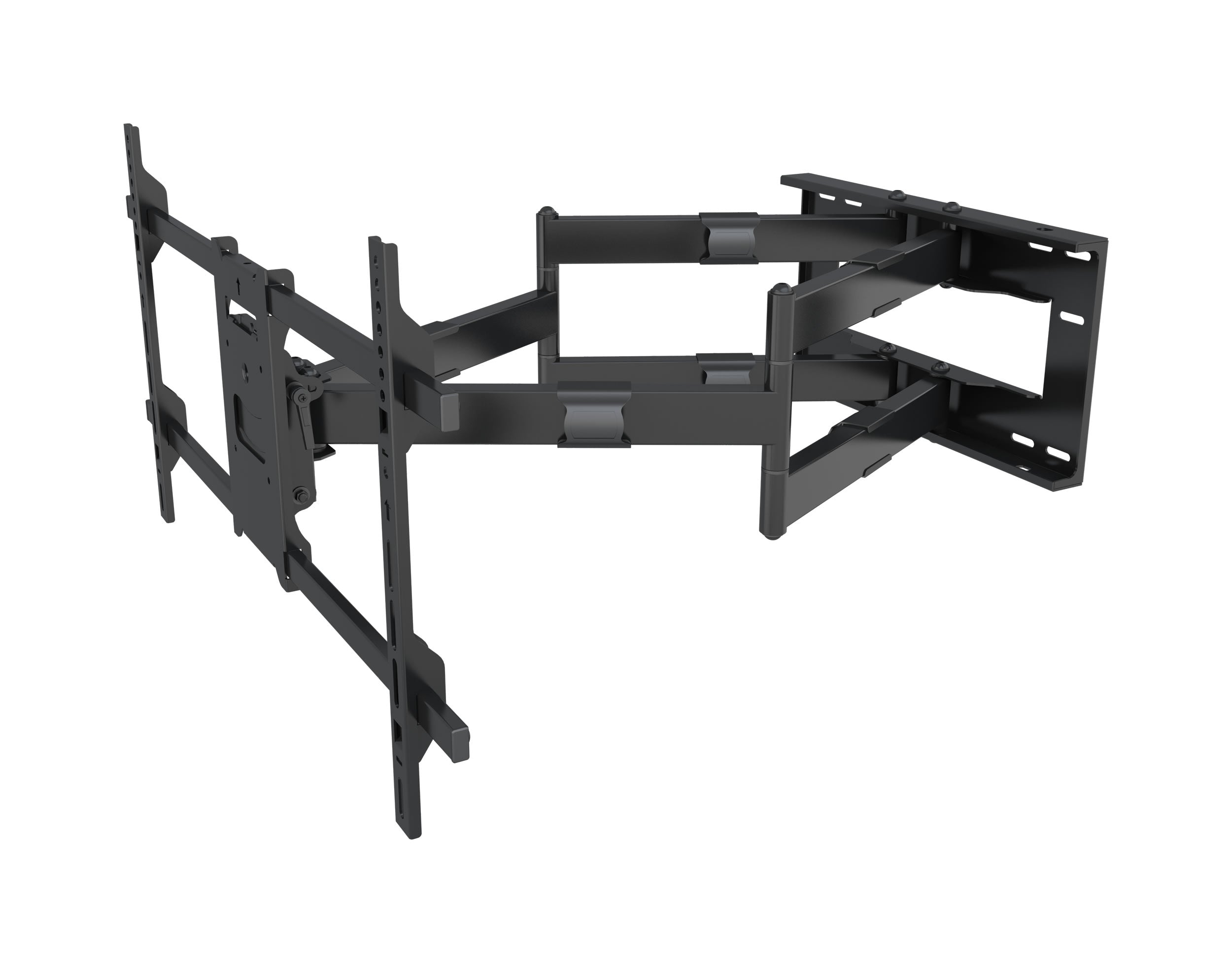 64-1152XL Full motion Flat LCD LED TV / Panels Wall Mount Bracket for 42-90 inches Screens