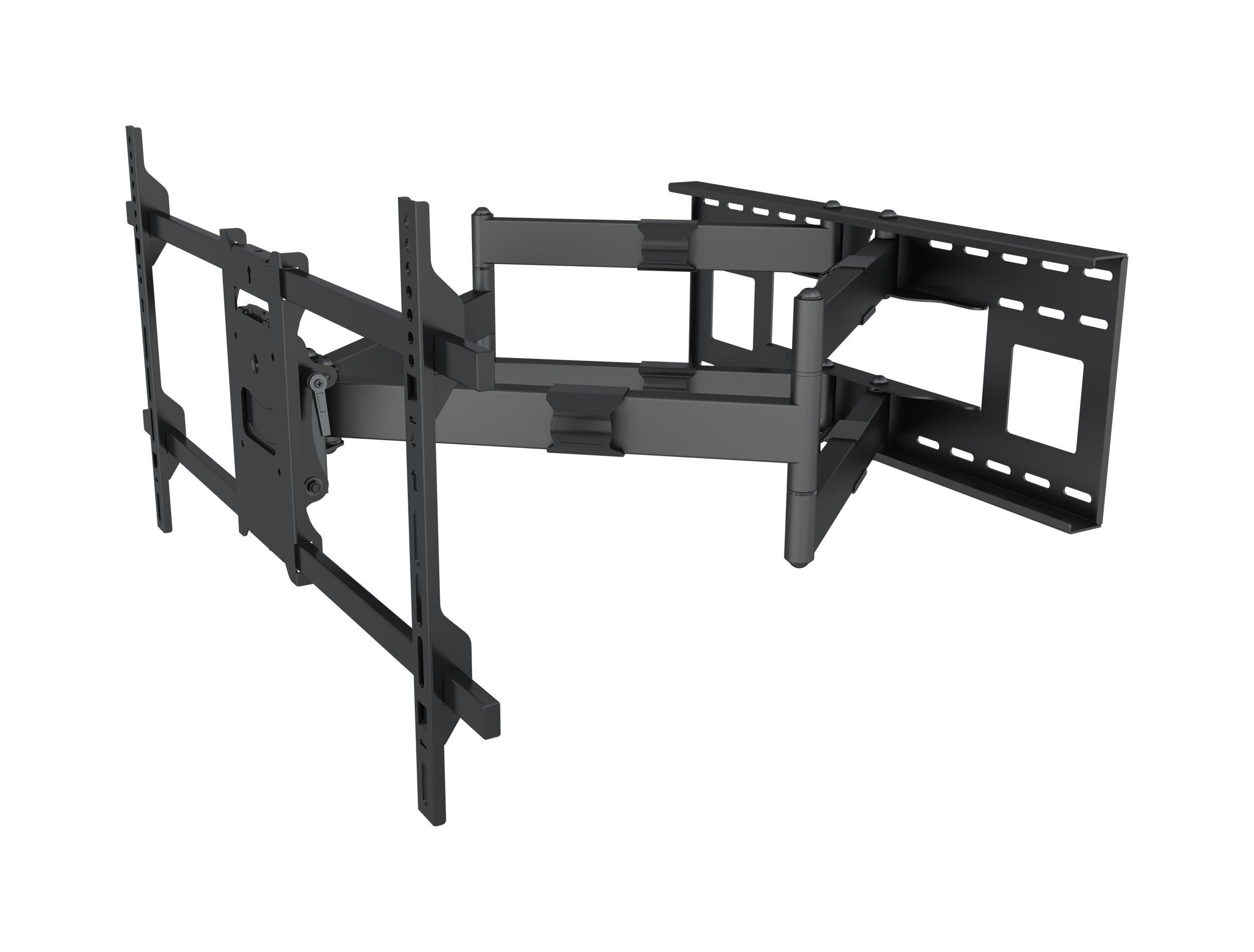 Full motion Flat LCD LED TV / Panels Wall Mount Bracket for 42-90 inches Screens