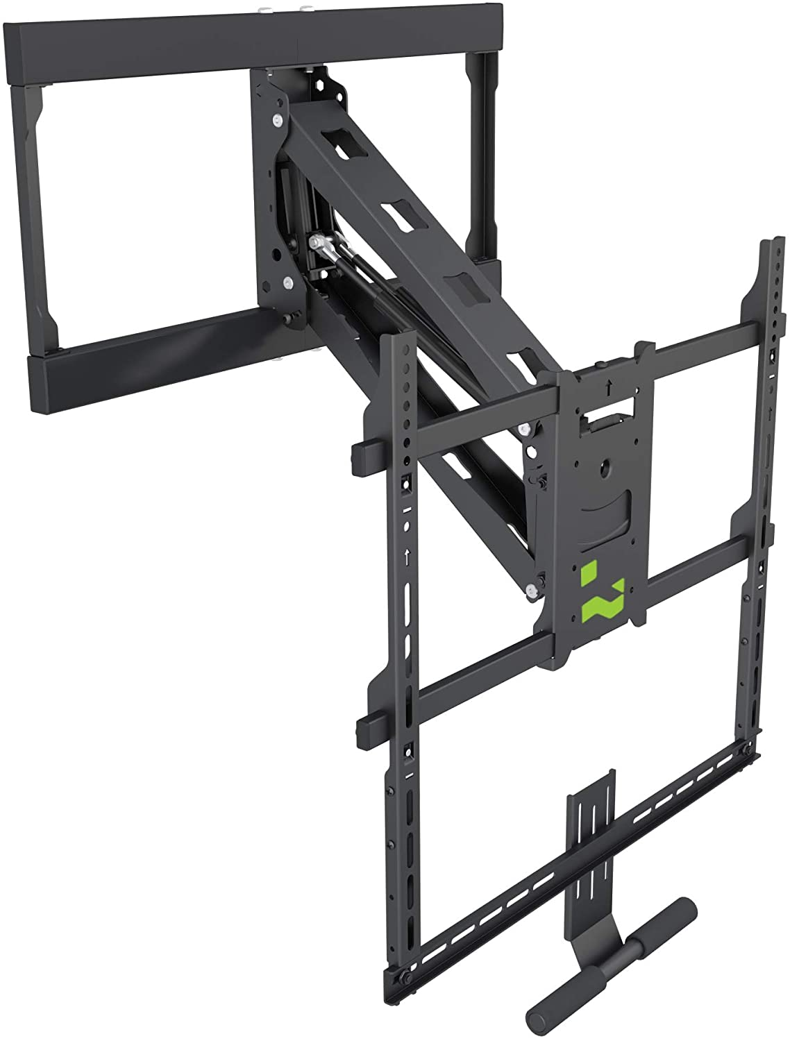 64-1156 Pull Down Fireplace TV Mount Bracket for 42 inches to 65 inches Flat Screen TVs