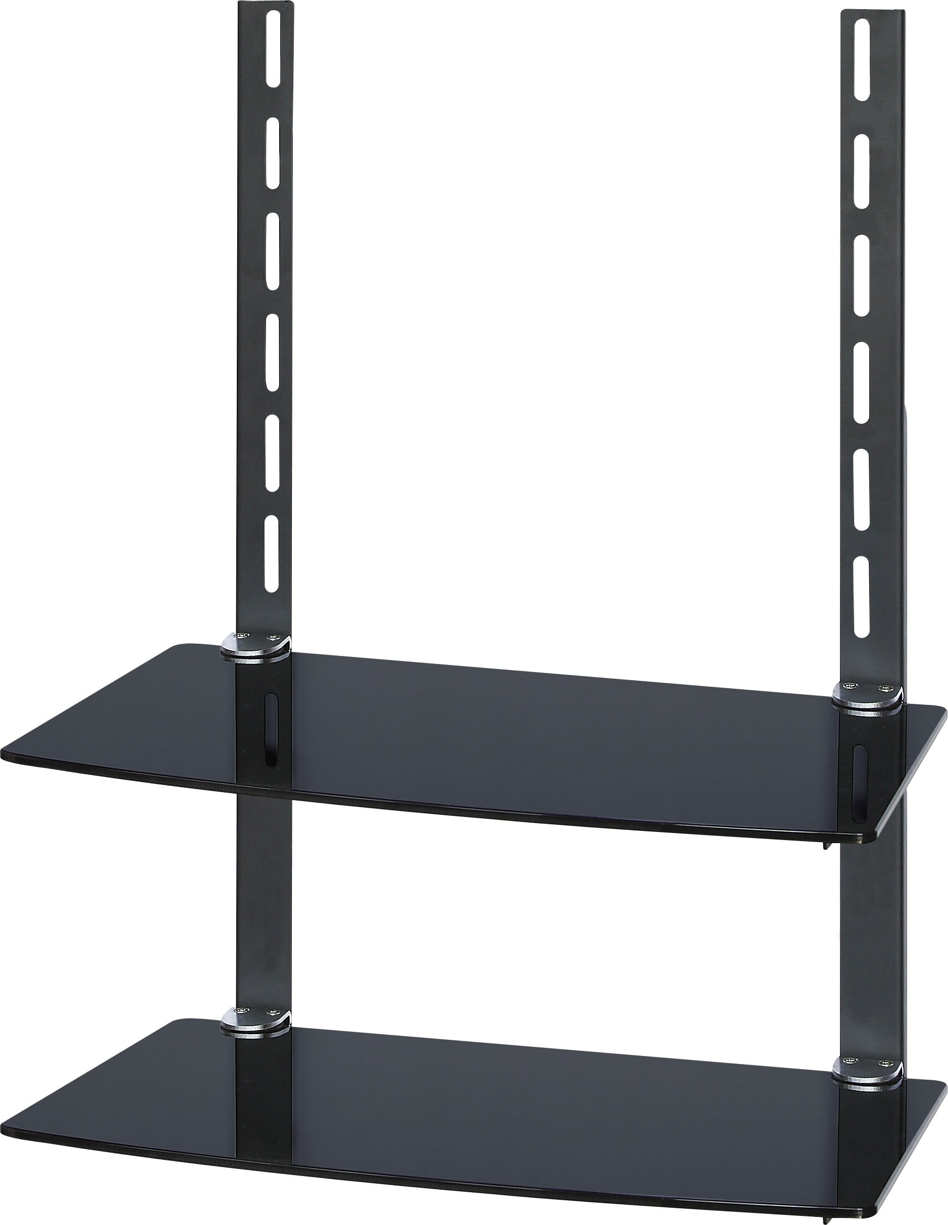 64-1202 Dual Glass Shelf Unit for Wall Mount TV Bracket
