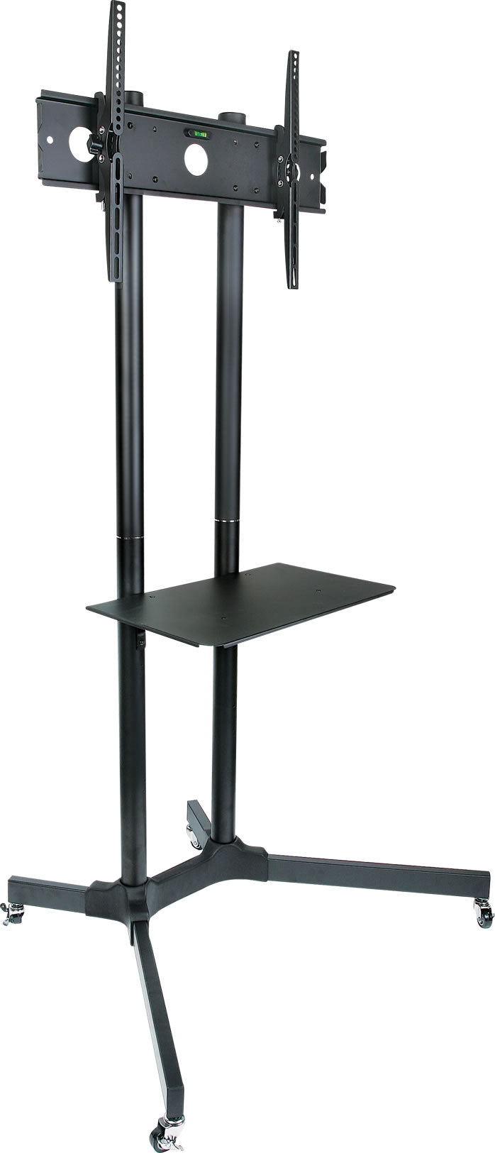 64-1221 Mobile Adjustable Height LCD LED TV / Monitor Stand for 30-65 inches Screen