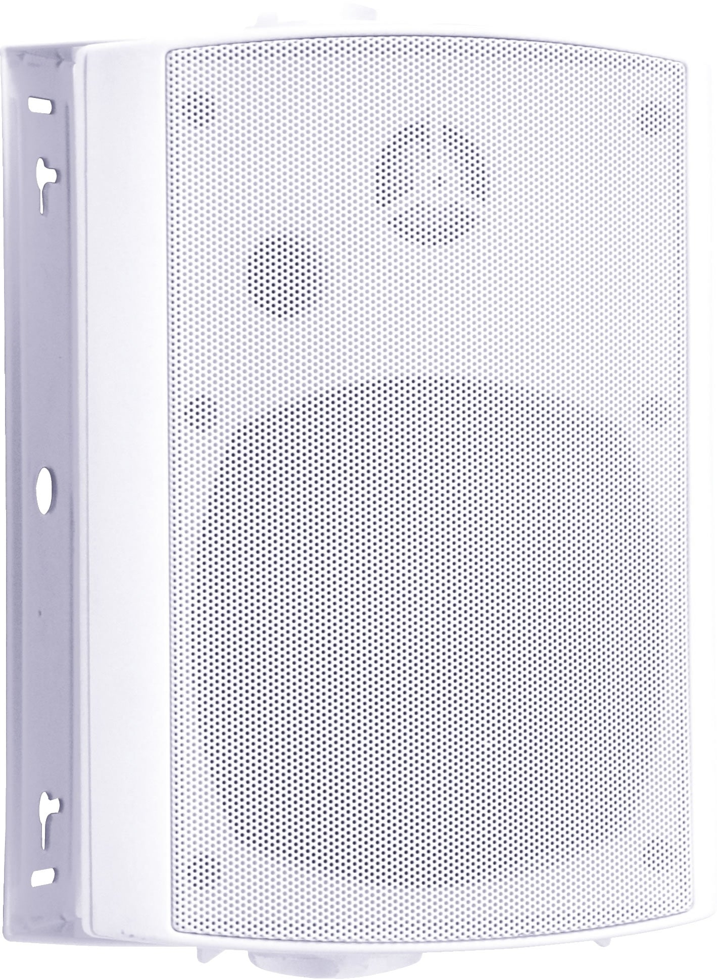 "89-8405W 5.25"" 2-Way Mini Box Speaker with Poly Tweeter - White"