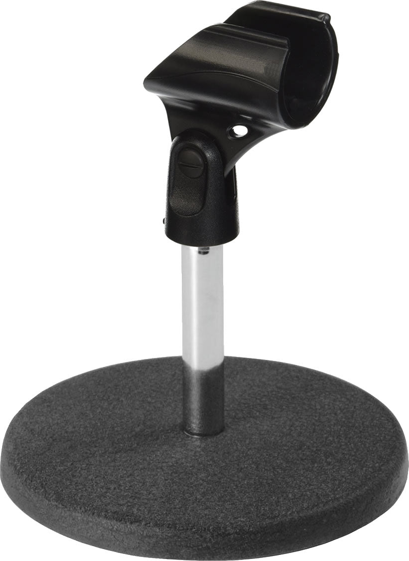 96-3034 Microphone Table Stand Metal Base with Holder