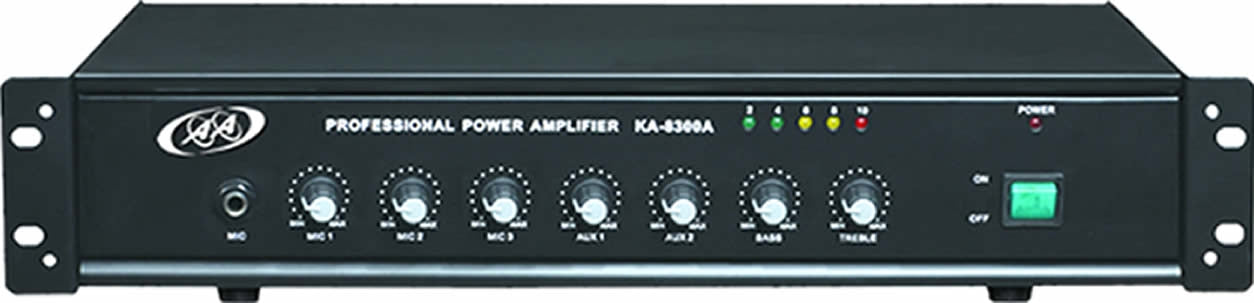 96-8300 PA System Amplifier with Built-in USB, SD Card & Bluetooth - 150W