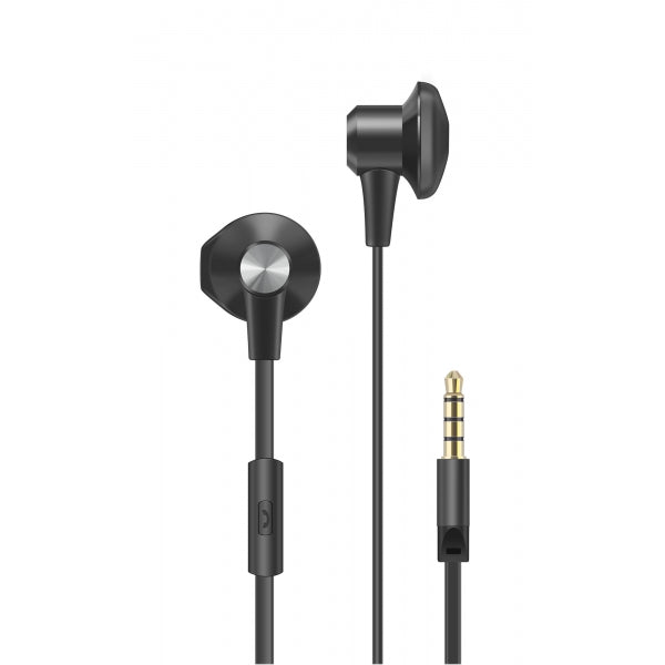 In-Ear Headphones with Microphone, flat wire (70-IP380)