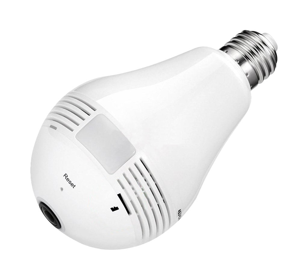 23-2113L WiFi Camera 960P Panoramic Fisheye Camera Light Bulb Camera