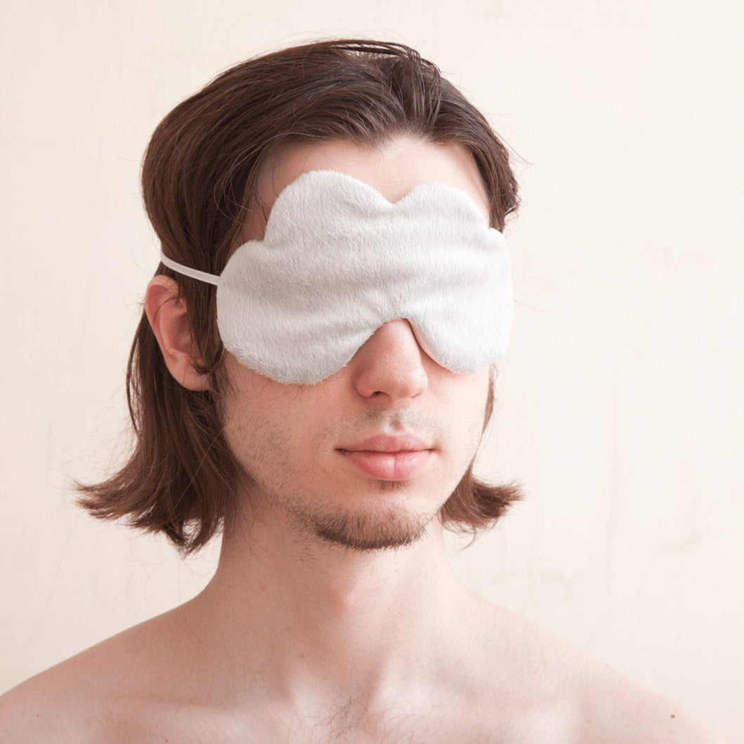 Cloud Sleep Mask Gray