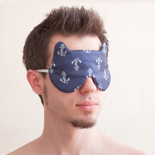 Nautical Bear Sleep Mask for Him