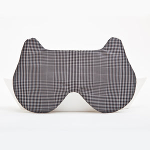 Checkered Bear Sleep Mask