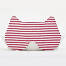 Load image into Gallery viewer, Bear Sleep Mask, Red Eye Mask