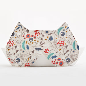 Cat Floral Sleep Mask