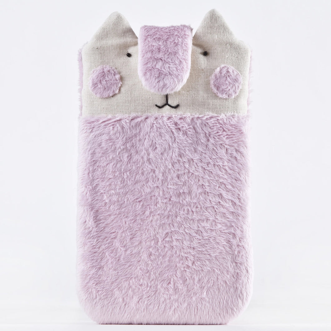 Fluffy Pink Cat Case for iPhone 11 Pro Max