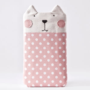 Pink Dotted Case for iPhone XS Max, Cat Galaxy Xcover FieldPro, Custom Phone Sleeve
