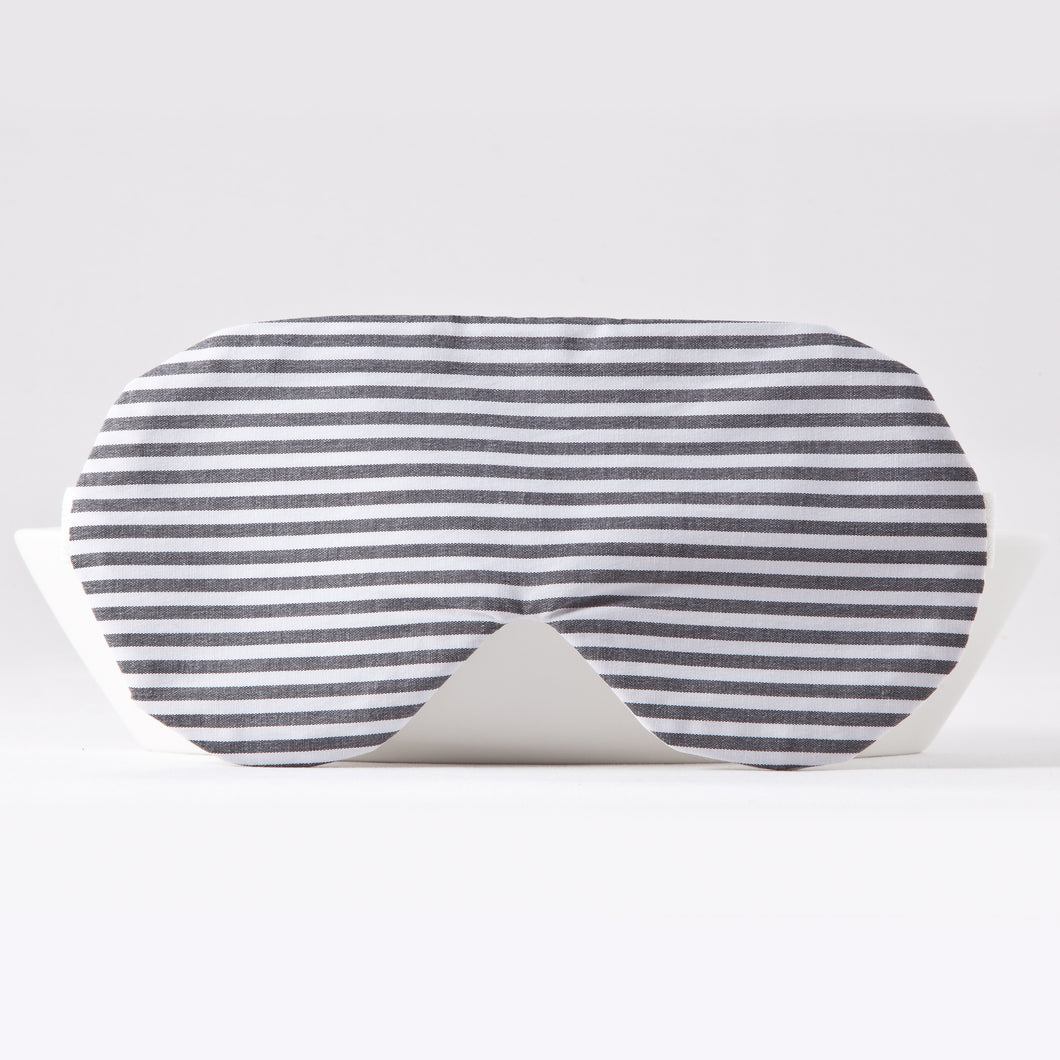 Gray White Sleep Mask