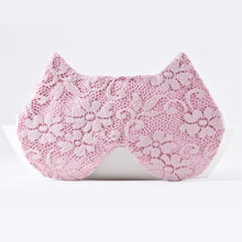 Load image into Gallery viewer, Pink Lace Cat Sleep Mask