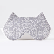 Load image into Gallery viewer, Gray Lace Cat Sleep Mask