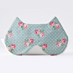 Mint Dotted Sleep Mask