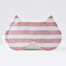 Load image into Gallery viewer, Pink White Cat Sleep Mask