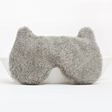 Load image into Gallery viewer, Gray Bear Sleep Mask
