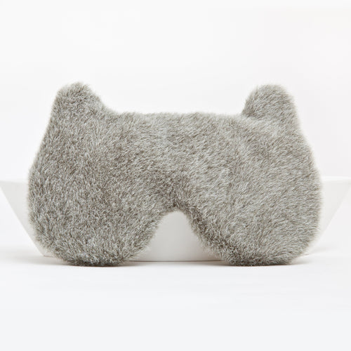 Gray Bear Sleep Mask