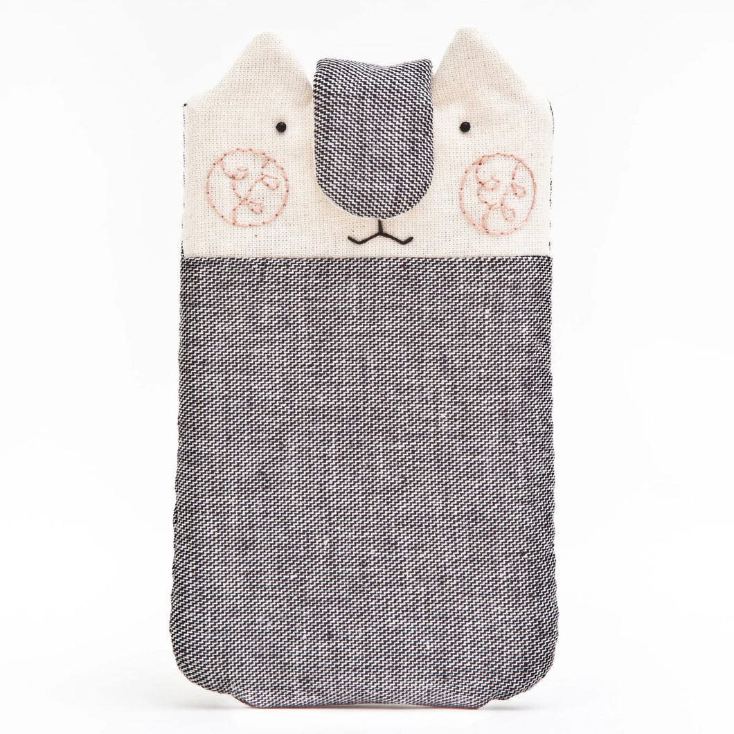 Gray Cat Case for iPhone 11 Pro