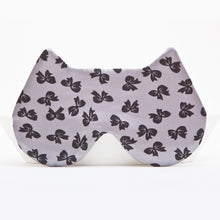 Load image into Gallery viewer, Gray Cat Sleep Mask